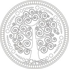 149 DIBUJOS Para IMPRIMIR, Colorear o Pintar para Niños Y Niñas | ParaNiños.org Mandala Art, Mandala Stencils, Mandala Pattern, Zentangle Patterns, Mosaic Patterns, Embroidery Patterns, Mandala Coloring, Colouring Pages, Adult Coloring Pages