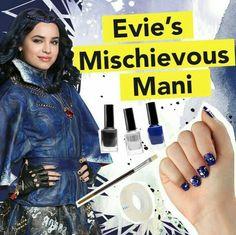 Descendants Wicked World, Descendants Characters, Evie Descendants, Disney Channel Descendants, Evie Costume, Diva E, Glamour Nails, Decendants, Bday Girl