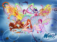 Winx Club - her 4th bday party theme (for the moment)