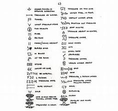Yamashita Treasure Signs And Symbols Map Symbols, Symbols And Meanings, Sign Language Words, Grammar And Vocabulary, Treasure Maps, Image Search, Meant To Be, Coding, English Grammar