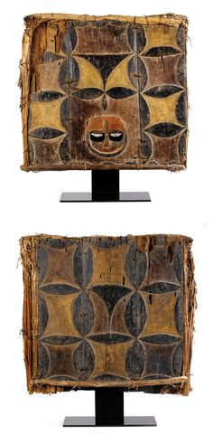Eket people of Nigeria - Double Panel Mask Arte Tribal, Tribal Art, Ghana, Afrique Art, Statues, African Sculptures, Art Premier, Art Africain, Masks Art