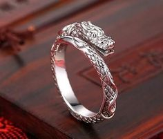 Mythical Dragons, Dragon Ring, Spiritual Jewelry, Chinese Dragon, Are You The One, Gold Rings, Great Gifts, Rose Gold, Sterling Silver