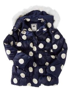 Quilted Dot Down-Filled Jacket