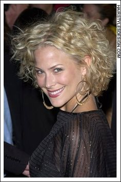 Details: Hair Style: Brittany Daniel's hair is a short length and curly. This look is cute and youthful. The hair is curly everywhere with a part at the center. This classy do is romantic and has lots of volume. Hair Cut: Brittany's haircut is short and layered. Hair Colour: This hair colour is blonde. Suitable For: Face shapes: oval, round Hair texture: medium Hair density: medium Styling: Techniques: blow dry, scrunch, finger dry Products: mousse, hair spray, curl enhancer, sculpture lotio...