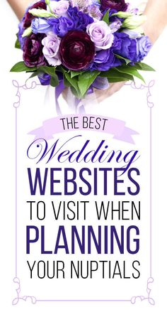 22 Websites That Make Wedding Planning So Much Easier