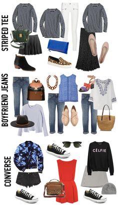 3 Wardrobe Basics, 3 Ways | via Gal Meets Glam