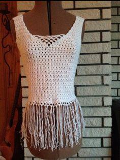 Top. Crochet Top, Tops, Women, Fashion, Moda, Fashion Styles, Shell Tops, Fashion Illustrations