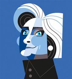 Hillary Clinton by Pablo Lobato