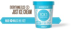 Joe's Ice Cream - The branding's pretty flippin' good too. Gower Peninsula, Ever And Ever, Swansea, How To Know, Drink Sleeves, Wales, Ice Cream, Cymru, Parlour