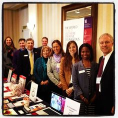 The Episcopal Diocese of Virginia's 219th Annual Council took place last Friday in Richmond. Here our Director of Admission Gretchen Herbst poses with Church Schools President David Charlton and representatives from our brother and sister schools, St. Catherine's School, St. Christopher's School - Richmond, VA , St. Stephen's & St. Agnes School, Christchurch School and Stuart Hall School.