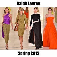 Go on a glamorous safari with #RalphLauren. Read the full report by following this link: http://socksnbirkenstocks.blogspot.com/2014/09/nyfw-ss15-pt8-ralph-lauren-calvin-klein.html #NYFW #SS15