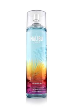 Malibu Heat from Bath & Body Works. Amazing!! So great for summer and perfect to pop in a cooler for the beach to freshen up!
