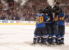 Come back late, win it in OT. The +St. Louis Blues did it again, taking a 2-0…