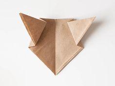 Easy Origami Bear + Disneynature's BEARS printables from All for the Boys blog