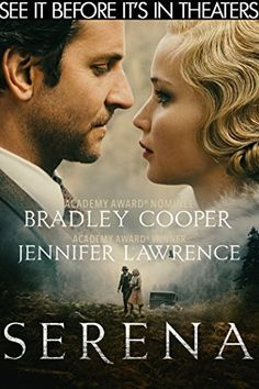 George and Serena Pemberton (Academy Award nominee Bradley Cooper and Academy Award winner Jennifer Lawrence), build a timber empire. Serena discovers George's past and their marriage begins to unravel. Bradley Cooper, Jennifer Lawrence, Film Movie, Cinema Movies, Indie Movies, Sci Fi Movies, Movie Theater, Action Movies, Films Netflix