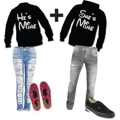 Cute couples outfits I these sweater for me and Matt ❤️