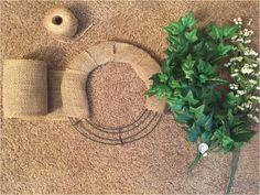 DIY Wreath: Make Your Own Summer Wreath Materials