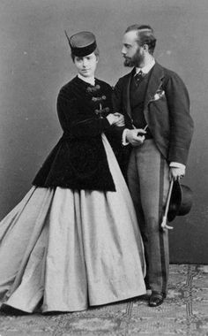 Handsome Civil War era couple.