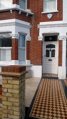Victorian Mosaic Tile - London Victorian Mosaic Tile Quality Mosaic Tile Path in London and SE England