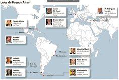 Dónde estaban los principales funcionarios durante el temporal en Buenos Aires