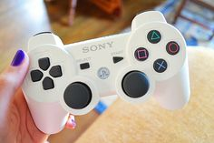 White ps3 controller ♡
