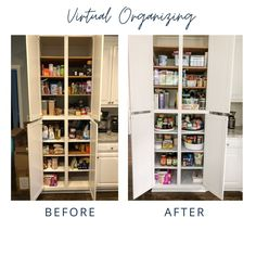 Pantry dreams do come true even in the middle of moving during a quarantine! ⠀ ⠀ This is another example of a successful Virtual Organizing project. Client emailed me before pictures,  I designed her system, sent her a detailed design with product links, we talked it over, she *added to cart* and then implemented the system. Done and done!⠀ ⠀ I love a happy client who loves their newly organized pantry!⠀ ⠀ ⠀ ⠀ #virtualorganizing #getorganized #startsmall #pantry #pantryorganization… Organized Pantry, Pantry Organization, Organizing, Dreams Do Come True, Cart, My Design, Middle, Happy, Pictures