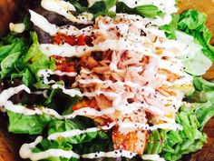 サニーレタスのピリ辛ツナキムチサラダの画像