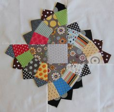 Fan Quiltalong Part 4: partial seams, blocks, quilt center - Color Girl Quilts by Sharon McConnell Blog Archive » Color Girl Quilts by Sharon McConnell