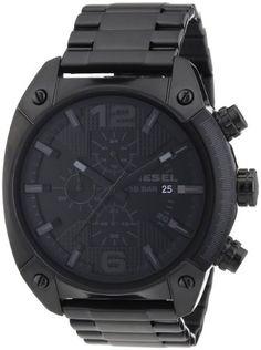 Diesel Herren-Armbanduhr OverFlow Chronograph Quarz Edelstahl beschichtet DZ4223 - http://uhr.haus/diesel/diesel-herren-armbanduhr-overflow-chronograph