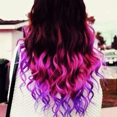 7 best Dip-Dye hairstyles images on Pinterest | Dyed hair, Haircolor ...