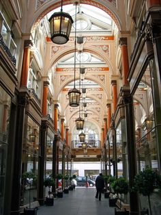 Royal Arcade Old Bond Street , London     #travel #London