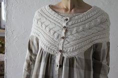 """""""Vivacidade Arakuriti controle do bloco & Knit Dress"""" ordem de correio roupas Natural Blanc et Blanc et bege bege uma colônia entusiasmo roupa entusiasmo vestido de linho casaco Koloni +"""