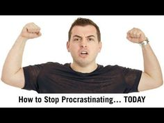 """If you're thinking """"I'll watch this video later,"""" guess what. You're procrastinating. Watch it right now ; Am I Going Crazy, Causes Of Adhd, Make Money Online, How To Make Money, Youtube Time, How To Stop Procrastinating, Business Video, Business Motivation, Professional Development"""