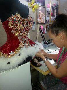 Natalya Bukhanova Ballet Costumes, Theatre Costumes, Dance Costumes, African Lace, African Dress, White Ruffle Dress, Ballet Tutu, Dance Outfits, Costume Design