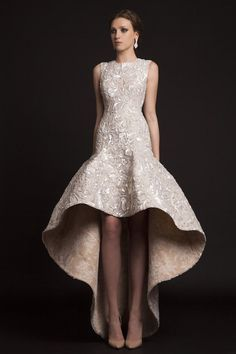The Spring 2015 Krikor Jabotian Wedding Dresses are like nothing we've ever seen! With so much glamour, you have to check out these styles! 2015 Wedding Dresses, Bridal Dresses, Gown Wedding, Wedding Blog, Lace Wedding, Tulle Prom Dress, Party Dress, Ball Dresses, Prom Dresses