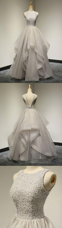 New Arrival Aline Floorlength scoop beading organza evening gowns, long prom dresses, New Arrival Aline Floorlength scoop beading organza evening gowns, long prom dresses, Grad Dresses, Dresses For Teens, Trendy Dresses, Elegant Dresses, Homecoming Dresses, Dress Outfits, Nice Dresses, Bridesmaid Dresses, Formal Dresses