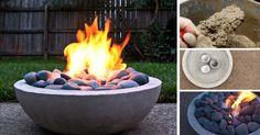 Kreatívny nápad s DIY návodom urob si sám - ako si vyrobiť moderné betónové ohnisko vlastnými rukami. Inšpiratívny návod na ohnisko z betónu. Tutoriál