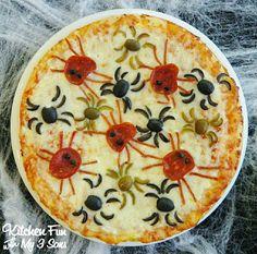 Halloweegan Pizza
