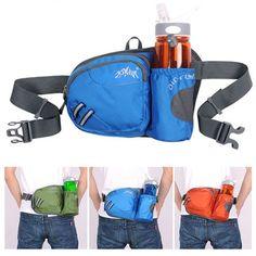 e69109e1eaff AONIJIE Outdoor Camping Hiking Waist Bag Sports Travel Water Bottle Bag  Holder Hiking Tips