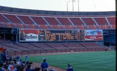 The Giants were not drawing well that season. We didn't have a big problem getting tickets. Candlestick Park, Candlesticks, Giants Baseball, Football, Baseball Pictures, Field Of Dreams, San Francisco Giants, Golden Gate Bridge, Cali