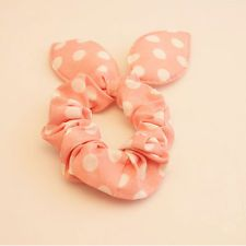 FASHION Rabbit Ear Hair Tie Bands Accessories Korean Style Pink Ponytail Holder