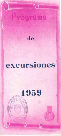 Programa de excursiones 1959 / [Viajes Amado, La Coruña]. -- [A Coruña : Viajes Amado, D. L. 1959 ([A Coruña] : Gráfico Galaico). -- [28] p. : il. cor e n., fot. ; 23 cm. -- Catálogo de viaxes por España e Europa. -- 1. Viaxes - Programas Eyeshadow, Poster, Te Amo, Europe, Viajes, Eye Shadow, Eye Shadows, Billboard