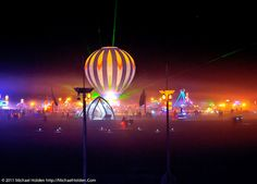 Hot Air at Burning Man 2010 by Michael Holden, via Flickr