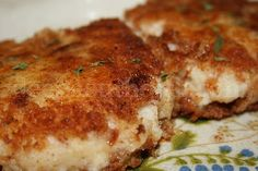 Mashed Potato Patties.  Great way to use leftover mashed potatoes/.