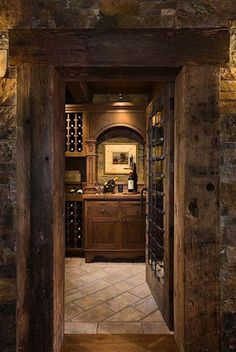 Stellar wine cellars...uncork the possibilities! - The Enchanted Home