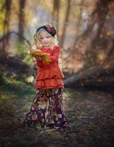 Fall dress for little girl