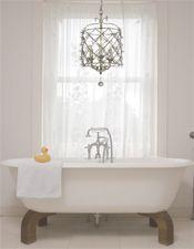 Chandelier in bathroom ideas make your bathroom amazing using chandeliers com for mini chandelier decor 1 . chandelier in bathroom ideas Small Bathroom Chandelier, Led Bathroom Vanity Lights, Modern Bathroom Lighting, Mini Chandelier, Bathroom Modern, Interior Lighting, Lighting Ideas, Find A Room, Fashion Lighting