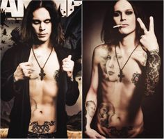 sexy ville valo him #tattoos #him