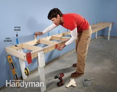 Giant DIY Garage Cabinet: The Family Handyman