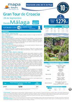 Gran Tour de Croacia desde Málaga desde 1279 € ultimo minuto - http://zocotours.com/gran-tour-de-croacia-desde-malaga-desde-1279-e-ultimo-minuto-3/